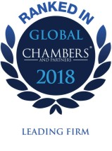 Chambers Top Ranked Global 2018